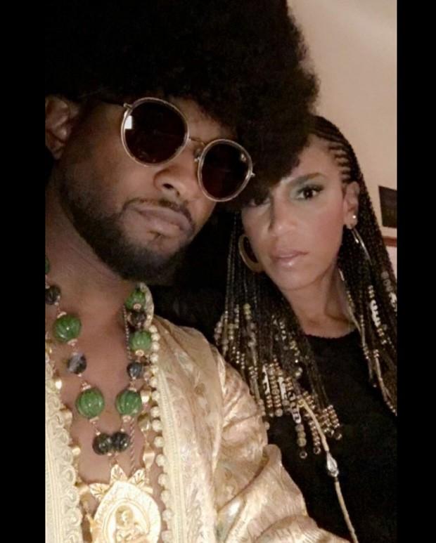 Usher  (Foto: Reprodução/Twitter)