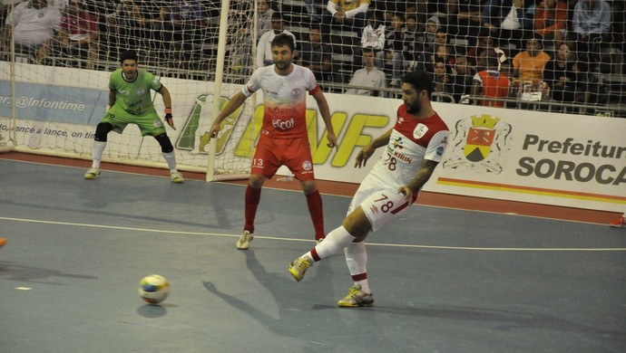 Sorocaba Futsal, futsal, Floripa, LNF, liga futsal (Foto: Divulgação / Brasil Kirin)