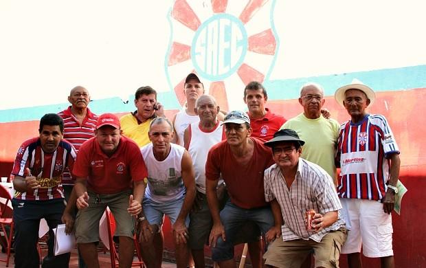 d20e5f54e4 Comemoração reuniu ex -jogadores campeões e 92 e 93 (Foto  Frank Cunha