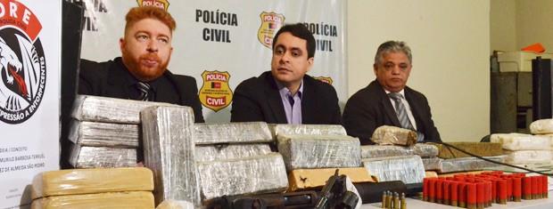 'Jamais podemos prometer que drogas não vão entrar no estado', diz Cláudio Lima  (Foto: Jorge Machado/G1)