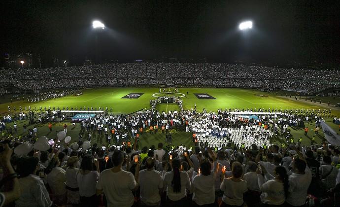 Resultado de imagem para homenagem chape colombia sul americana