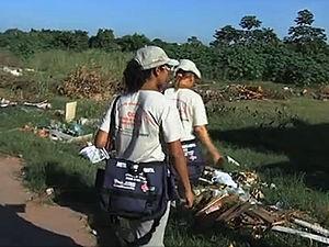 Agendes da dengue em MT (Foto: Reprodução /TVCA)
