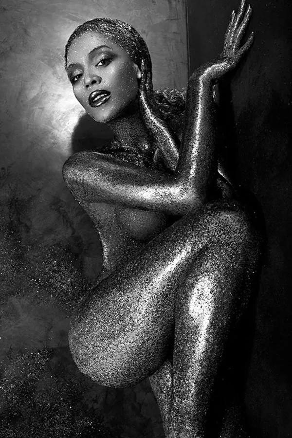Foto de Bayonce que foi comparada por seguidores (Foto: Reprodução/Instagram)