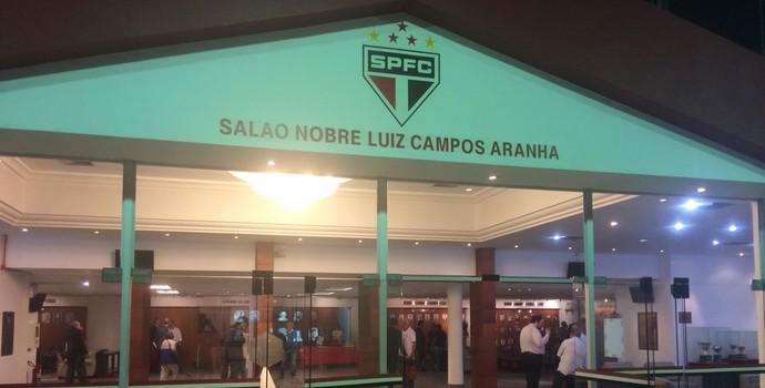 Reunião Conselho Deliberativo São Paulo (Foto: Marcelo Hazan)