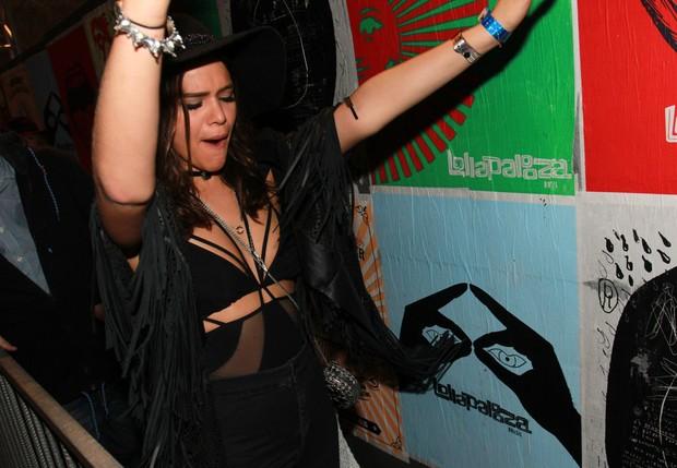 Bruna Marquezine no Lollapalooza (Foto: Celso Tavares/ EGO)