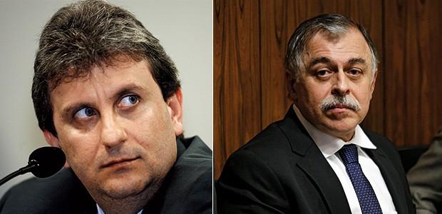 Alberto Youssef (à esq.) e Paulo Roberto Costa (à dir.) (Foto: Joedson Alves/Estadão Conteúdo e Dida Sampaio/Estadão Conteúdo)