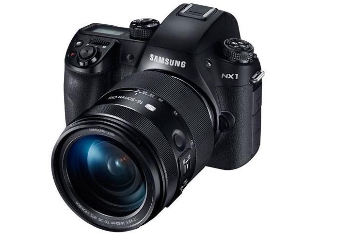 NX1 foi lançada com hardware top de linha (Foto: Divulgação/Samsung)