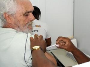 Vacinação Bahia (Foto: Leornardo Rattes/ Divulgação Sesab)