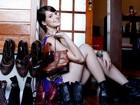 Agatha Moreira abre o armário para o EGO e mostra sua coleção de botas: 'Tenho 30 pares'