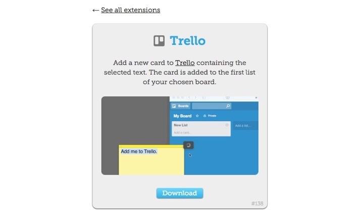 Envie textos para o Trello direto do Mac (Foto: Reprodução/André Sugai)