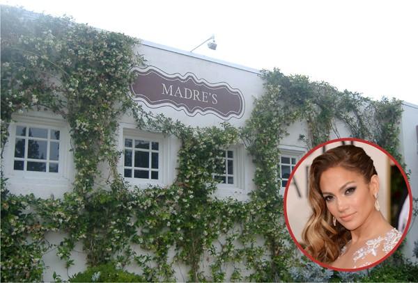 Jennifer Lopez foi dona do Madre's, em Pasadena, até 2008, focado é claro em comida latina (Foto: Getty Images / Divulgação)