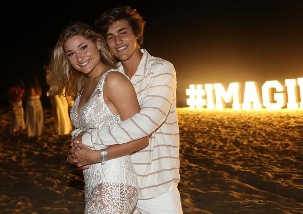 Sasha Meneghel e Bruno Montaleone (Foto: Divulgação)