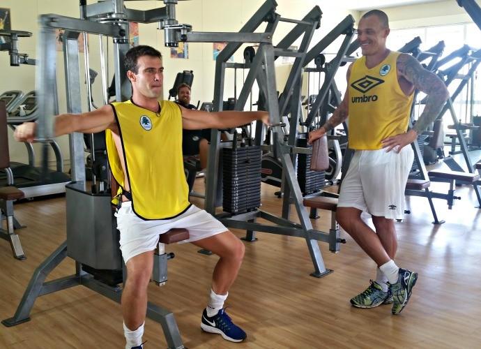 Pre-temporada Thiago Asmar euatleta (Foto: Igor Christ)