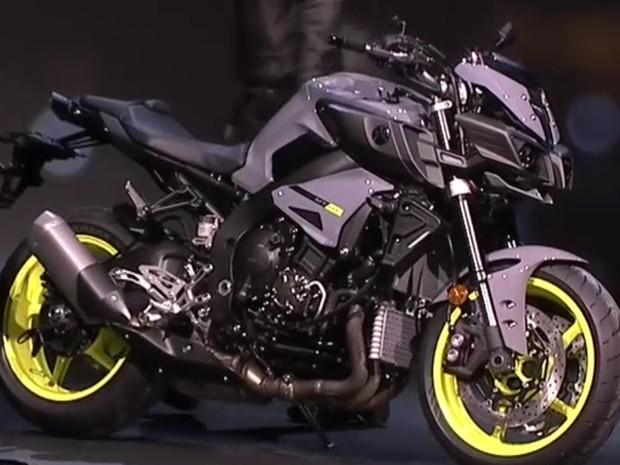 Yamaha MT-10 (Foto: Reprodução)