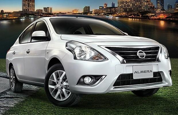 Nissan Versa passa por facelift na Tailândia (Foto: Divulgação)