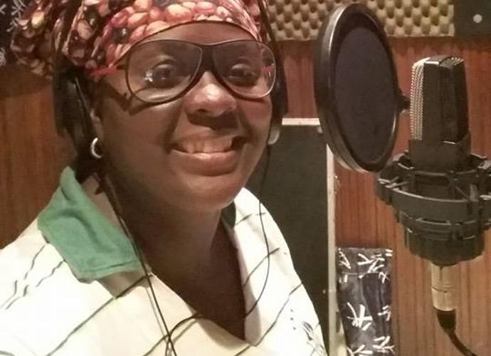 Paula Sanffer começou a cantar quando era pequena (Foto: Arquivo pessoal)