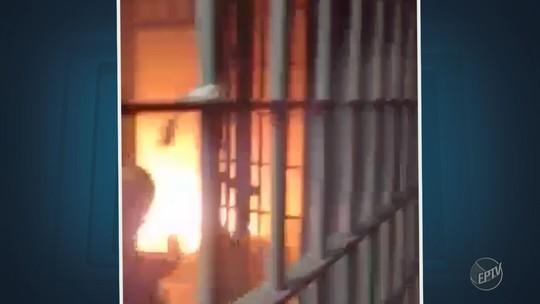 Monte Mor apura conduta de guardas em caso de vídeo que mostra ofensas verbais a detenta que colocou fogo em cela