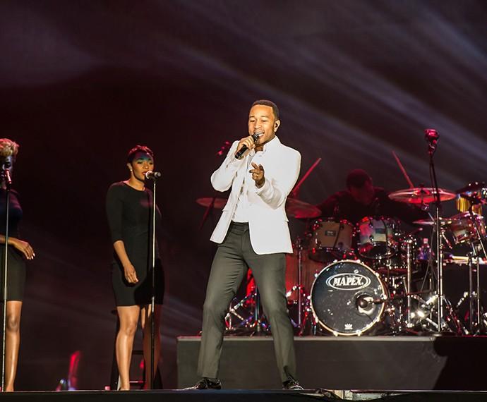John Legend foi uma das atrações mais esperadas em Las Vegas e promete um show arrasador na edição no Brasil (Foto: Divulgação)