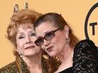 'Eu quero estar com Carrie', teria dito Debbie Reynolds antes de morrer