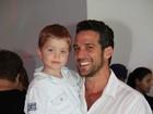 Carlos Bonow comemora aniversário do filho com presença de famosos