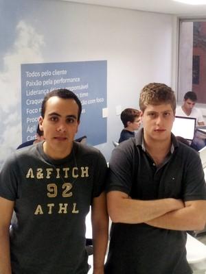 Felipe Cataldi e Luan Gabellini, da Betalabs (Foto: Divulgação)