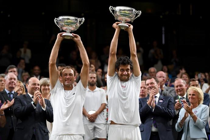 Marcelo Melo Wimbledon (Foto: GLYN KIRK / AFP)