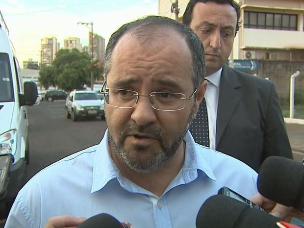 Candidato a prefeito de Ribeirão Preto, Wagner Rodrigues (PC do B) (Foto: Reprodução/EPTV)