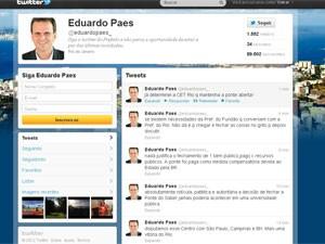 Eduardo Paes (Foto: Reprodução/Twitter)