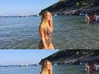 Carolina Portaluppi abre álbum de viagem e relembra férias na Croácia