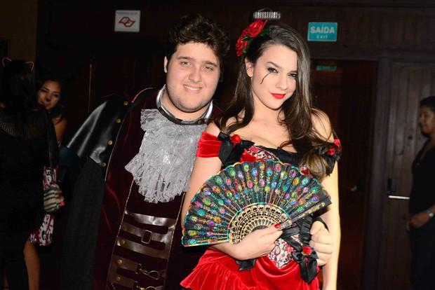 Felipe Hintze e Mariana Molina (Foto: Leo Franco/ Ag. News)
