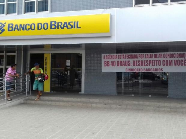 G1 Sem Ar Condicionado Banc Rios Param Atendimento Em Ag Ncia Na Pb Not Cias Em Para Ba