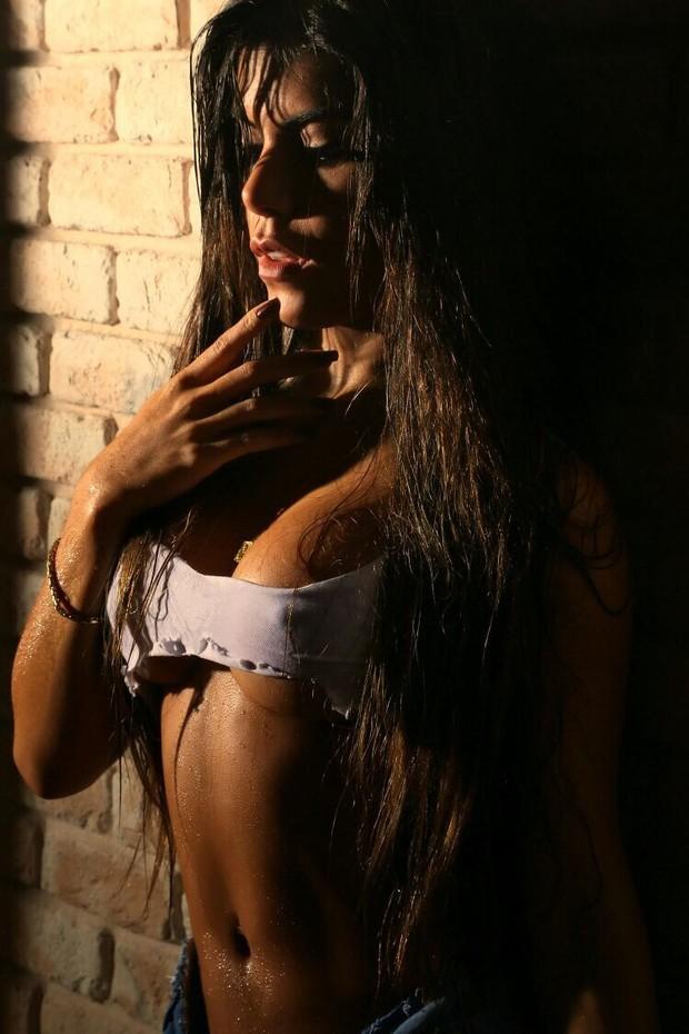 Miss Bumbum Goiás Priscila Rocha (Foto: Studio Eurico Freire/Divulgação)