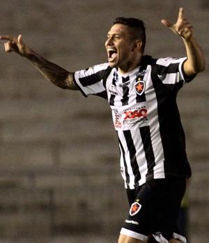 Botafogo-PB x Botafogo - Rafael Oliveira comemora gol  (Foto: Ademar Filho / Futura Press)
