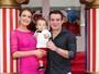 Belutti e Thaís Pacholek comemoram aniversário de 1 ano de Luis Miguel