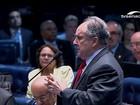 Interrogatório de Dilma no Senado: Cristovam Buarque pergunta