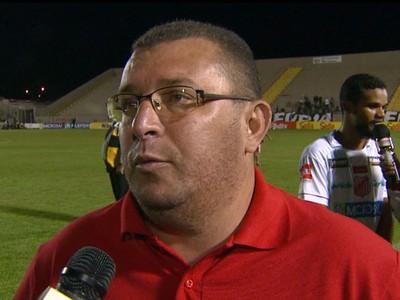 Treinador Interino Evandro de Souza Capivariano (Foto: Reprodução / EPTV)