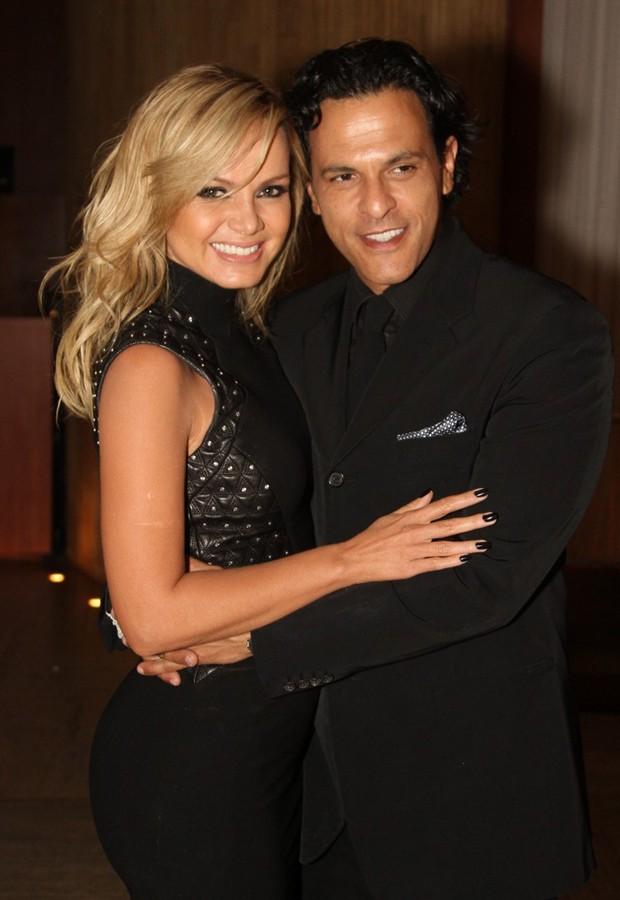 Eliana e João Marcelo Bôscoli (Foto: Thiago Duran/AgNews)