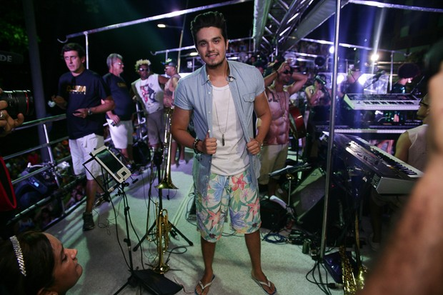 Luan Santana (Foto: Raphael Castello/AGNews )