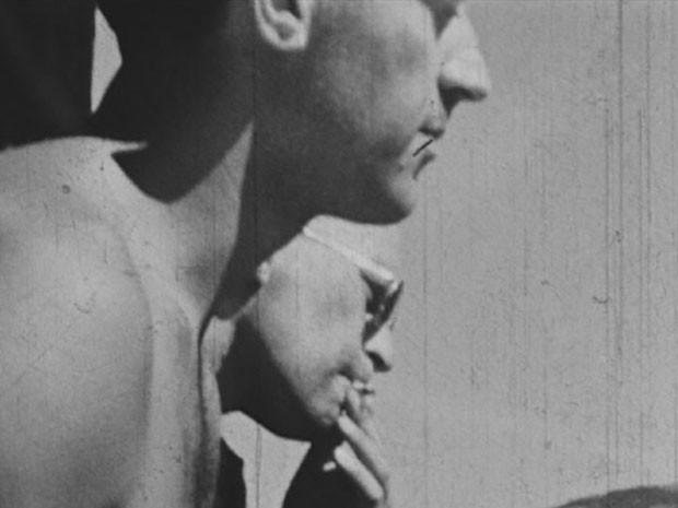Licco Haim (de óculos) no campo de trabalhos forçados (Foto: US Holocaust Memorial Museum/Doação de Salvator Haim)
