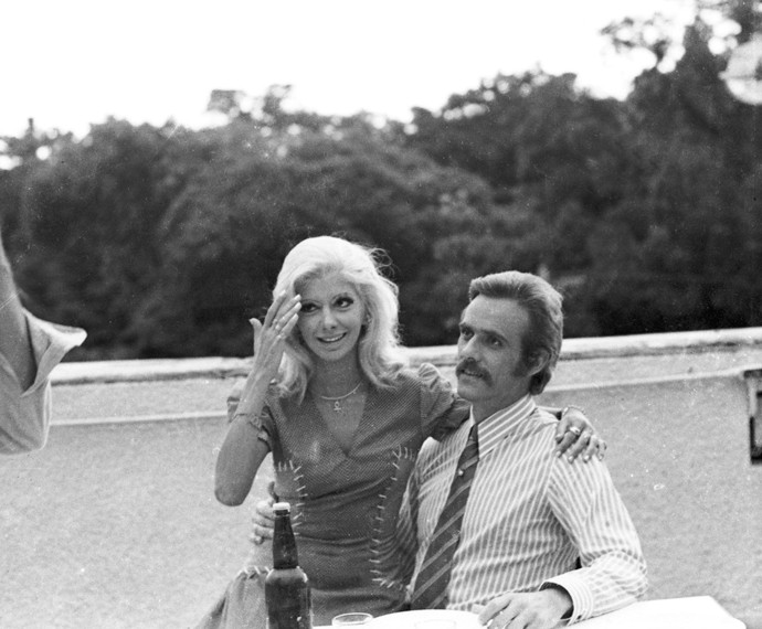 Com Francisco Cuoco, Marília Pera atuou na novela O Cafona (Foto: Cedoc / TV Globo)