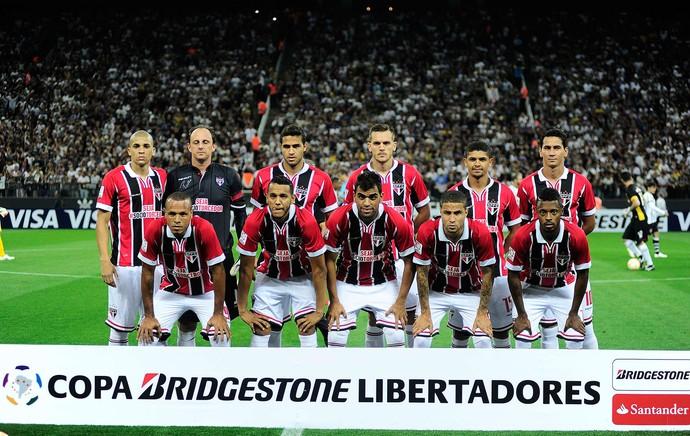 time posado, Corinthians x São Paulo, Libertadores (Foto: Marcos Ribolli)