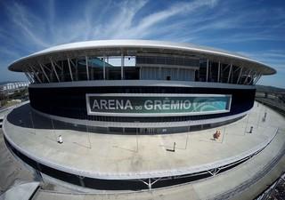 Arena do Grêmio (Foto: Drone Service Brasil / DVG)