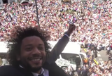 BLOG: Marcelo registra festa da torcida pelo título do Real Madrid nesta segunda