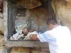 Santuário é destruído no Sertão de PE e padre acredita em ação intencional