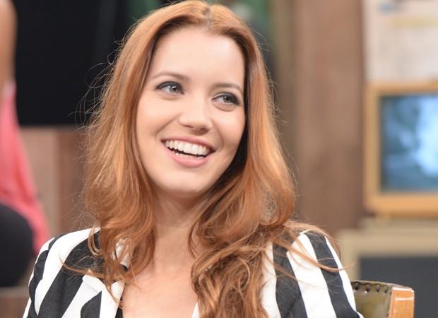 4º lugar: Os cabelos ruivos de Nathalia Dill. A atriz adotou a tonalidade para participar de 'Joia Rara'. Com o fim da trama na sexta-feira (4), ela já escureceu os fios para um novo trabalho (Foto: Divulgação/TV Globo)