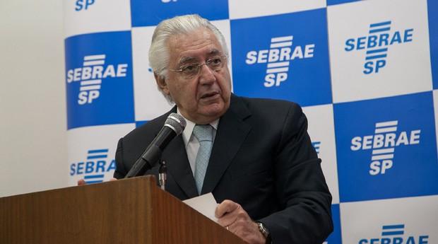 Guilherme Afif Domingos, presidente do Sebrae (Foto: Divulgação)