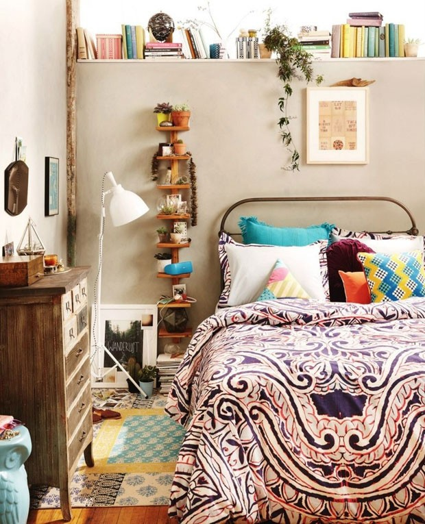 Decorating Ideas > Décor Do Dia Hippie Chic Moderninho  Casa Vogue  Décor  ~ 215909_Indie Apartment Decorating Ideas