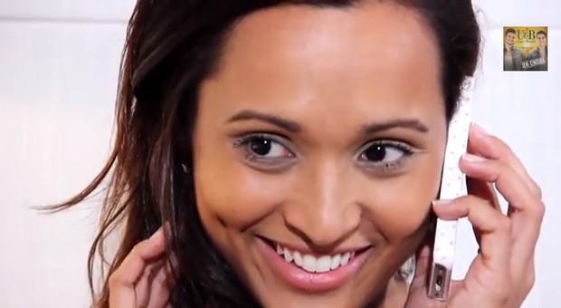 Thaissa Carvalho no clipe de Ugo e Bruno (Foto: Reprodução / Youtube)