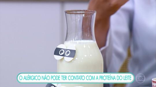 Leite e camarão são os dois alimentos que mais causam alergia no Brasil