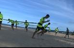 Botafogo volta aos treinos na praia após sequência de jogos fora de casa